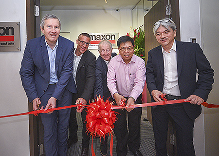 maxon has been represented in Singapore since the early 1990s by its exclusive sales partner Servo Dynamics Pty Ltd