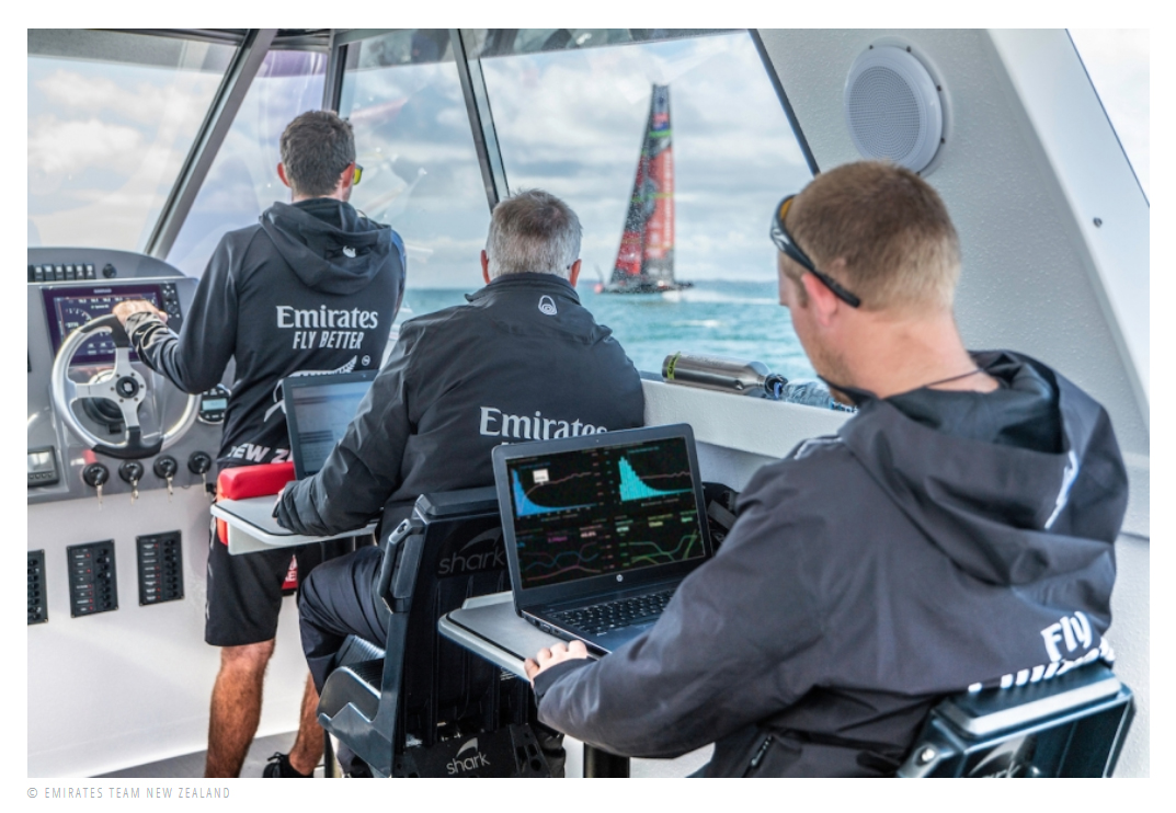 Spark New Zealand today announced that it is now trialling a 5G service on the water for Emirates Team New Zealand, delivering on their promise to help make the boat go faster in the bid to defend the next America's Cup